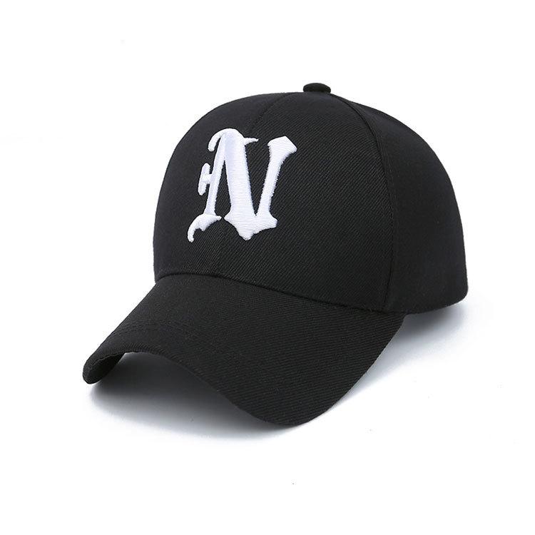 Moda unisex algodón gorra de béisbol SnapBack sombrero para hombres mujeres  sol sombrero gorras NY bordado f85cd28a9c3