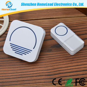 52 Chime Tones Available Modern Electronic Buy Doorbell Wireless,Door Bell Bird Sound with Plug-in Chime IP44 Waterproof
