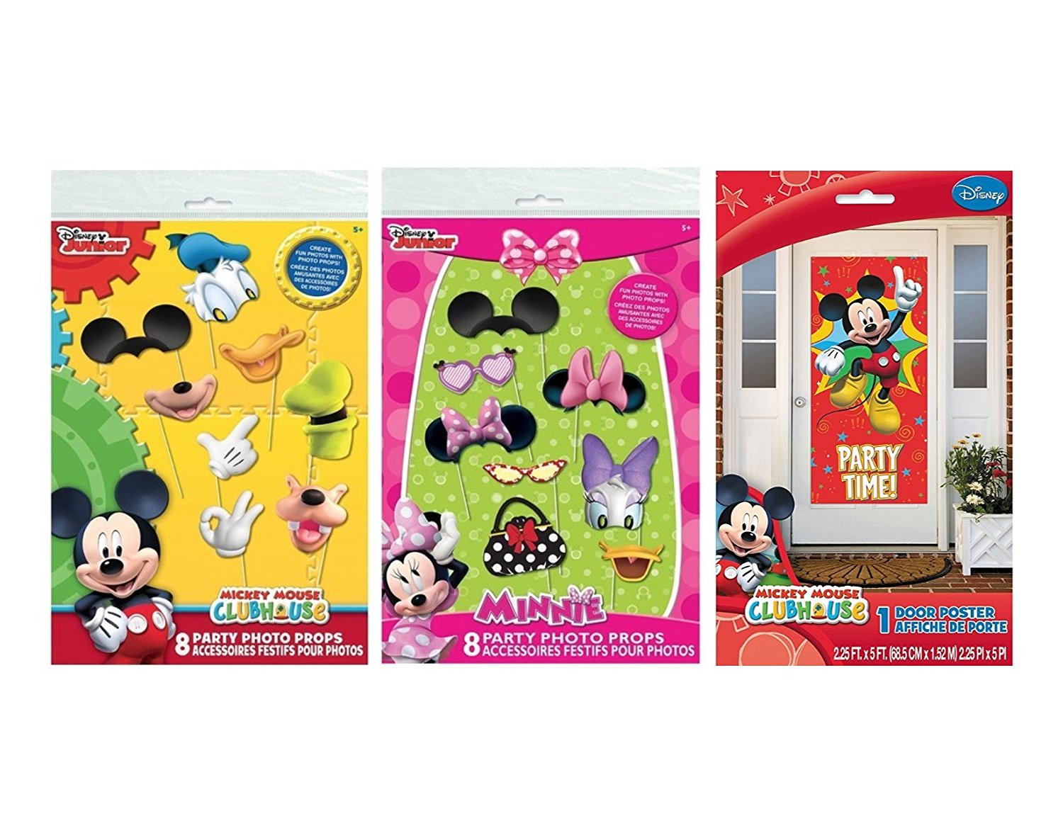 Buy Mickey Mouse Clubhouse And Minnie Mouse Photo Booth Props 16 Pc