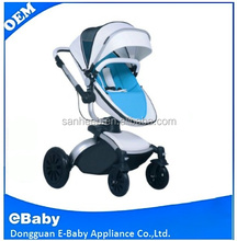 2017 Fashion baby stroller/Luxury Leather Baby Stroller, Hot Selling 3 in 1Baby Stroller With EN Certificate