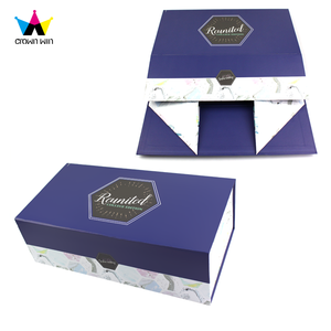 High Quality Hand Made Flat Folding Cardboard Packaging Gift Box