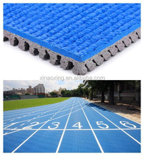 Huadongtrack IAAF certifeid, Prefabricated Rubber Athletic Track,2014 Incheon Aisa Sport Game Supplier of Running Track