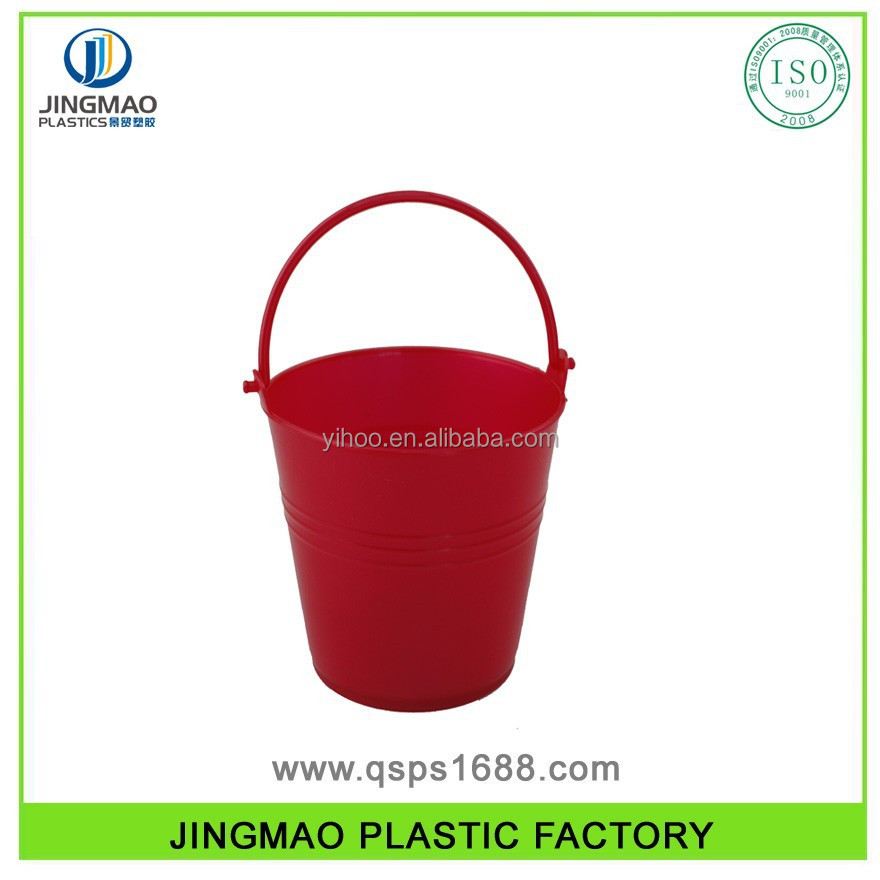 PP Plastic Mini Beach Bucket For Kids
