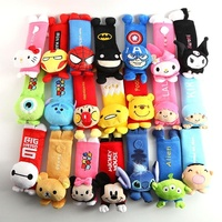 Cute plush toys Cartoon animal Car Safety Seat Belt Cover