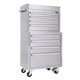 High Standard Stainless Steel Tool Chest,Garage Tool Cabinet,8 Drawers Tool Bench