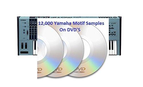 Yamaha Motif Es & Xs sound samples /Wav 2 DVD's