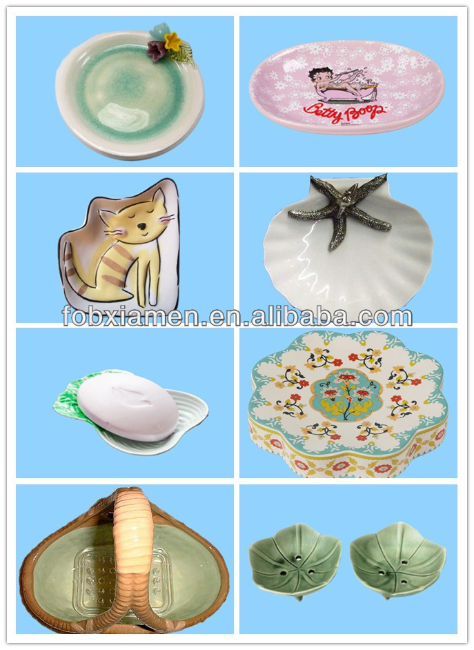 Funny Ceramic Bathtub Handmade Soap Dishes
