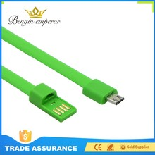 Popular Promotional high dielectric strength bracelet 18 pin usb data cable