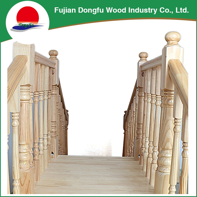 High Quality Modern Pine Custom Antique Staircase Wholesale