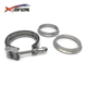 "Accept oem!3.5"" Stainless Steel Clamp,Band Clamp"