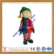 Christmas elf plush toy/custom mini elf toy/plush elf doll