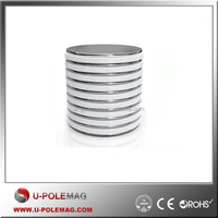 N45 D38.1x1.59mm Super Strong Neodymium Disc Magnets,Rare Earth magnets for use in DIY, Home, Crafts and Office