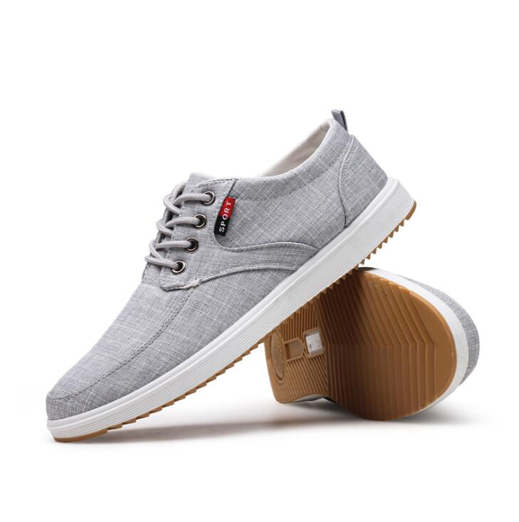 d2b844672f sh10521a 2019 new stock casual men shoes canvas upper cheap sneakers for men