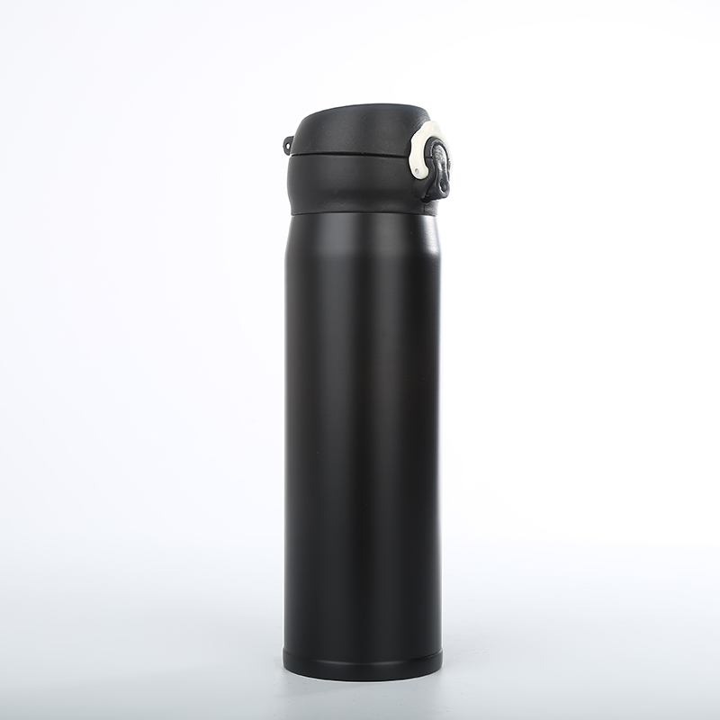 Customized Wholesale Stainless Steel Insulated Bounce Cup Vacuum Flask Golden Color