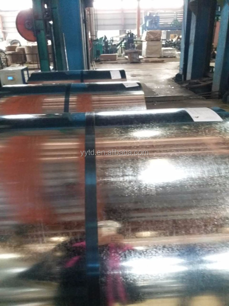 Prepainted galvanized iron sheet/PPGI/prepainted gi steel coil from tianjin yiyuantongda steel