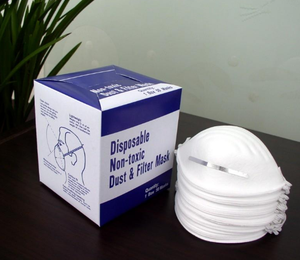 cheap disposable non-woven dust mask for general purpose
