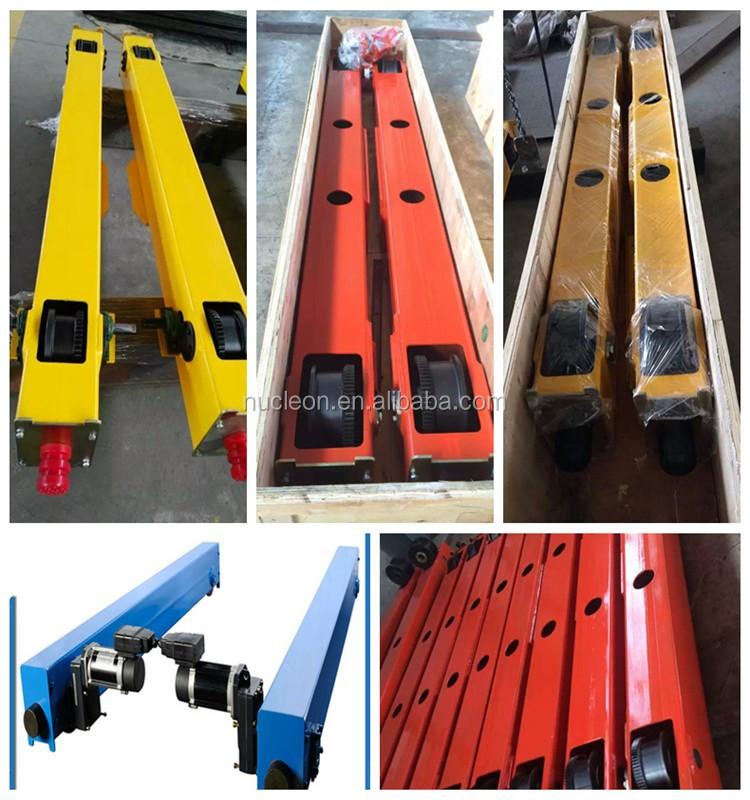 European-style Universal Customizable End Beams/End Girder With Wheel for Bridge Cranes