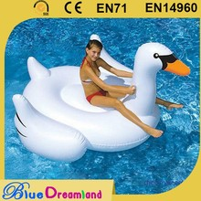 Professional factory inflatable flamingo/swan float mattress with good price