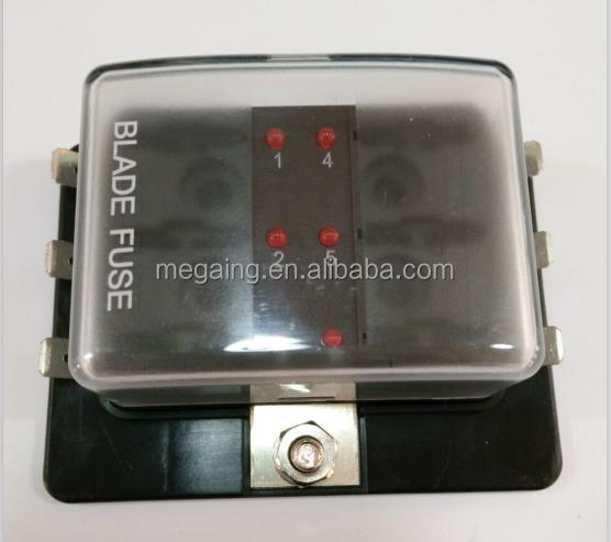 professional car 6 way atc ato blade fuse block fuse box for marine