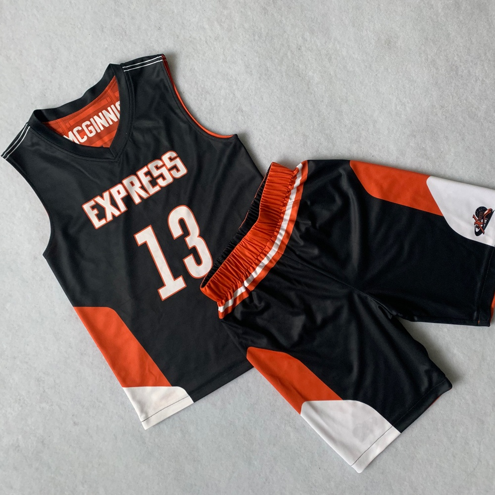 Neues Design Dry Fit Mesh 100% Polyester Custom Logo reversible Basketball Jersey Uniform