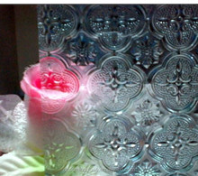 3.5mm-6mm,8mm decorative glass spring flora pattern glass with CE,CCC,ISO certification for internal decoration