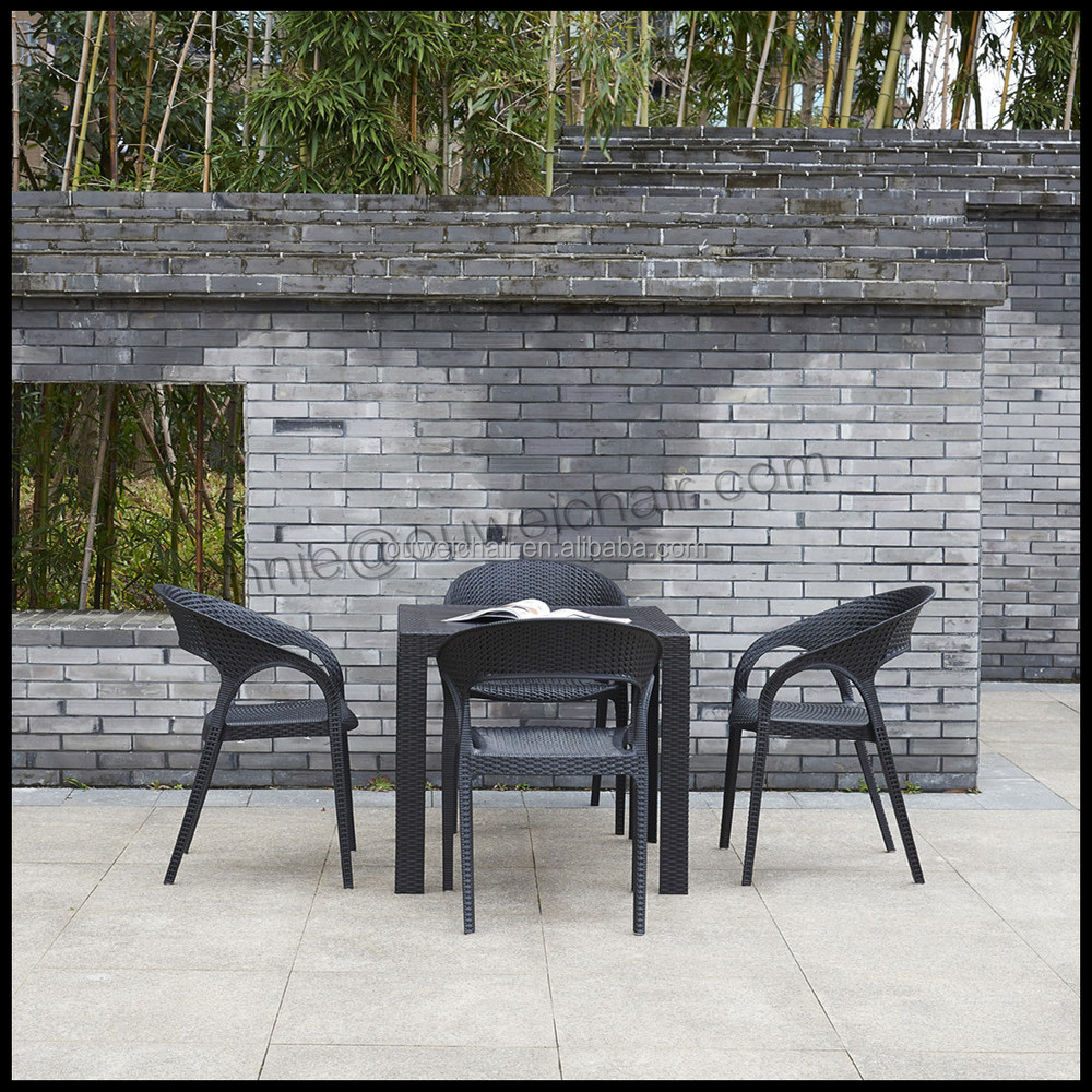 Outdoor Furniture Plastic Rattan Tables And Chairs Buy Outdoor Furniture Plastic Rattan