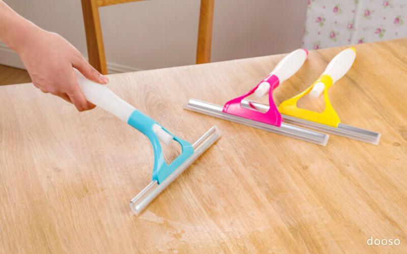 3 In 1 Rubber Squeegee Sponge Tool Spray Bottle Window