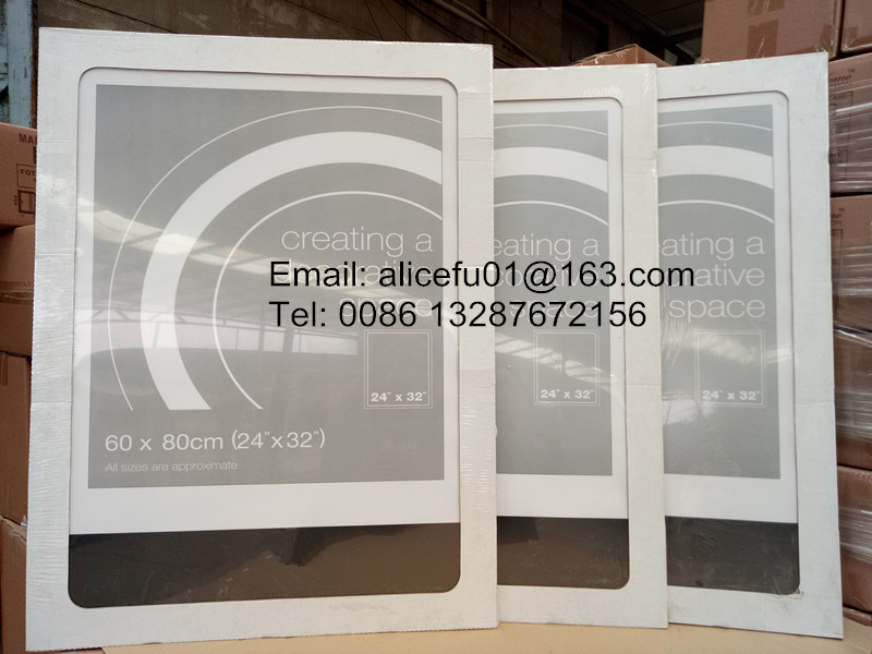 Großhandel Rahmenlose Glas Bild Rahmen Metall-clip Rahmen 4x6 5x7 ...