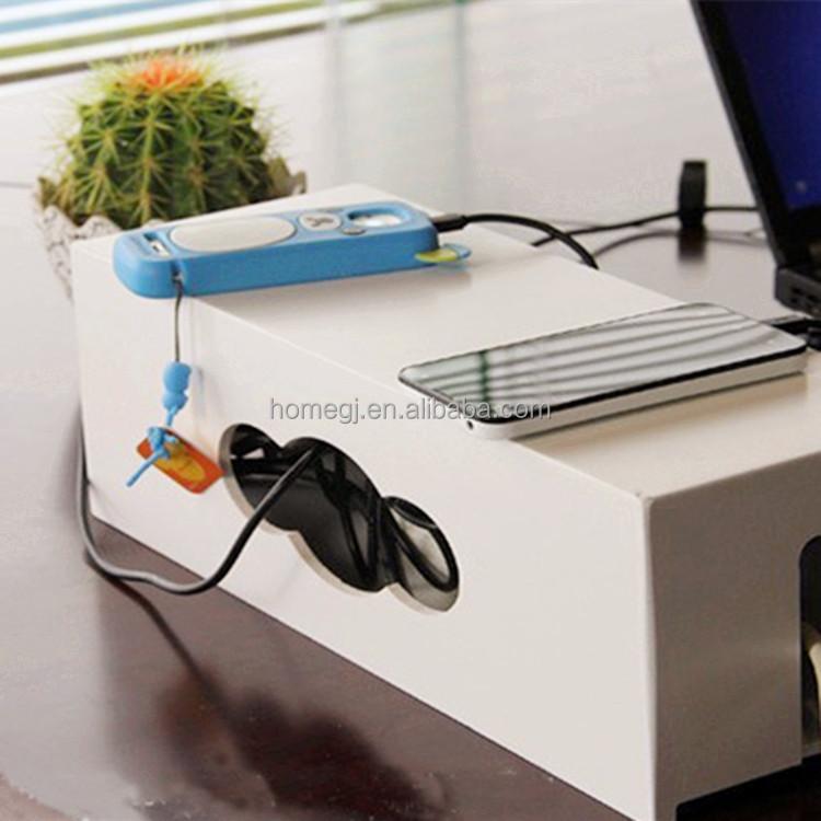 multi power plug prise anti poussi re c ble bo te de rangement lignes lectriques lectrique. Black Bedroom Furniture Sets. Home Design Ideas