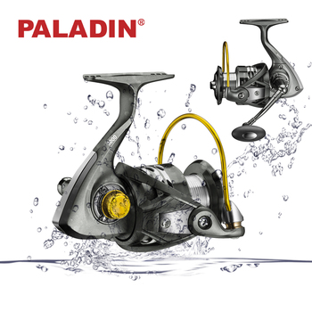 PALADIN Stainless Steel Power Handle Cheap Spinning Fishing Reels for Saltwater Fishing