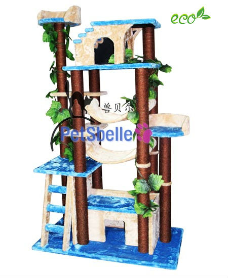 Environmental cat furniture products any color cat tree