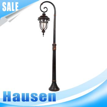 Antique Outdoor Garden Light/Decorative Garden Post And Lantern