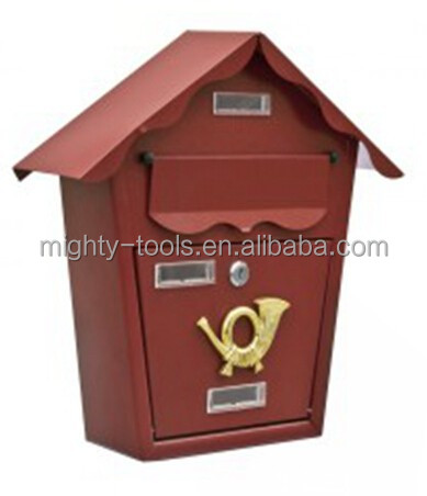 Wall Mounted Mailbox And Newspaper Holder, Wall Mounted Mailbox ...
