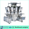 High speed high accuracy ten bucket stainless steel weighers Fish packing machine