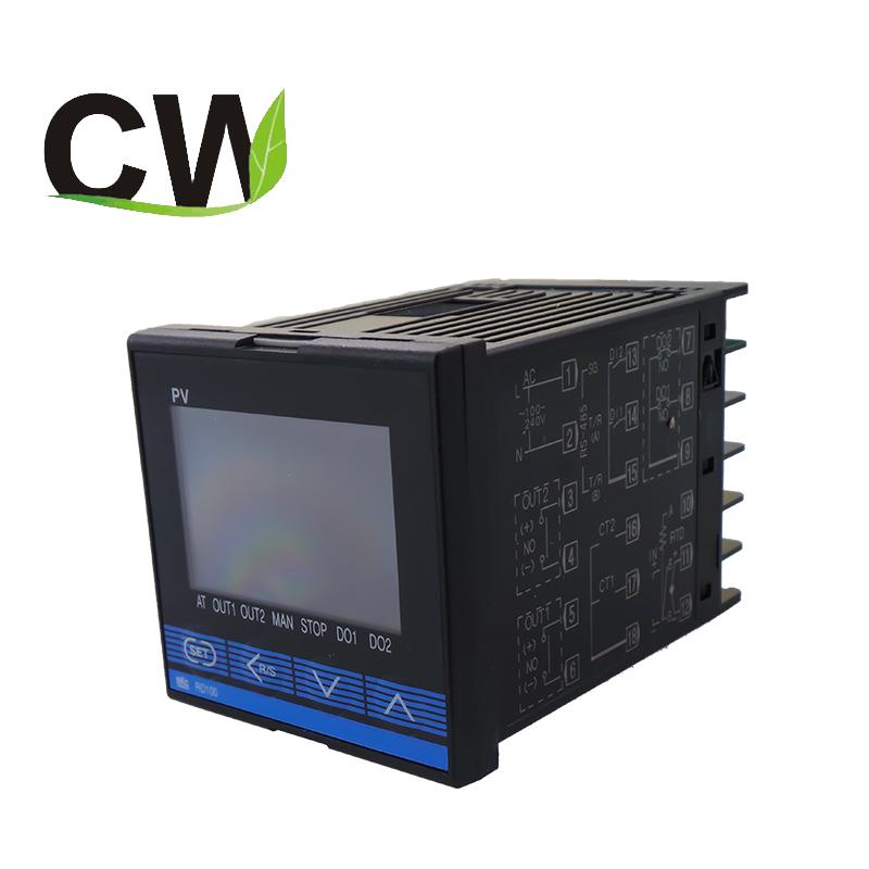 New Omron temperature controller E5EN-R1T-N 100-240VAC