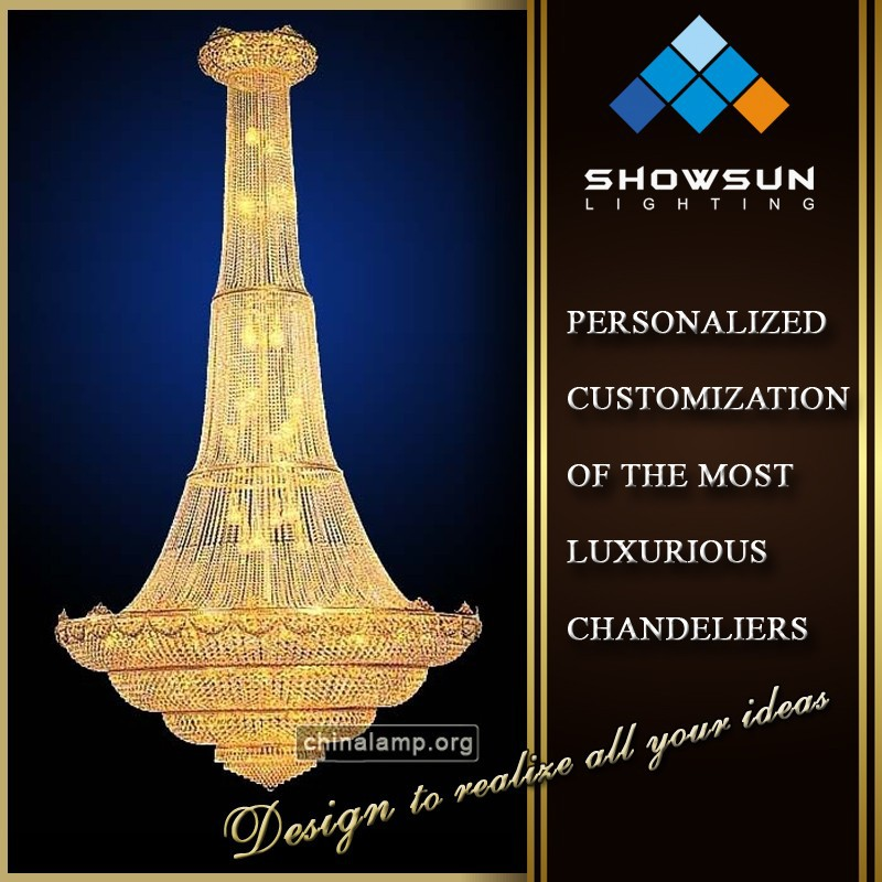 Alibaba express Octagonal crystal chain large chandelier light