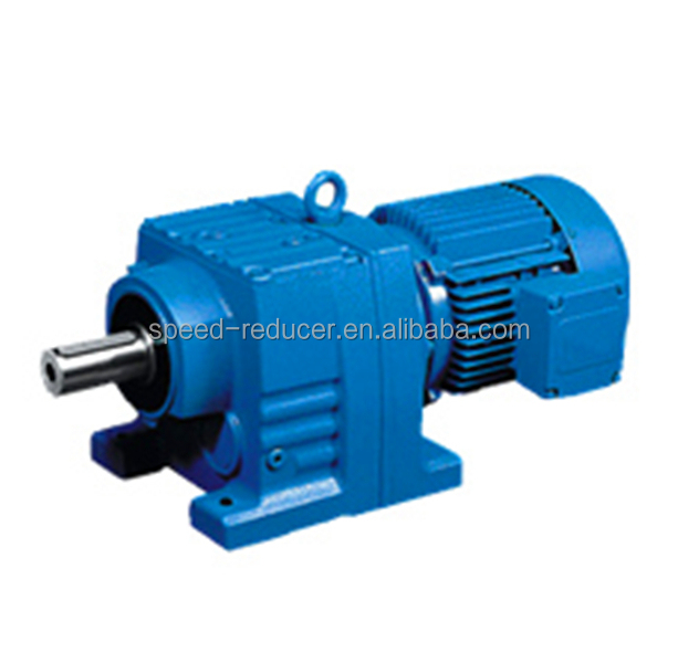 R Series Helical Gear Motor Flange Type Electric Motor