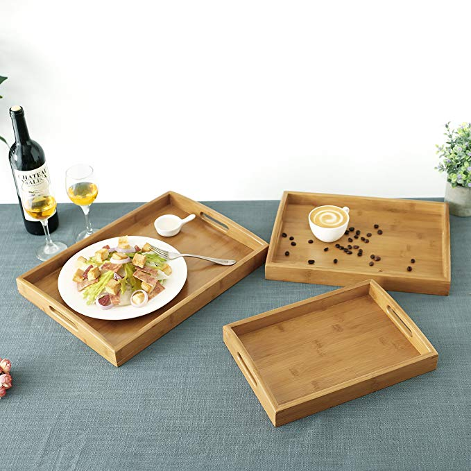 High Quality serving tray with handles 7