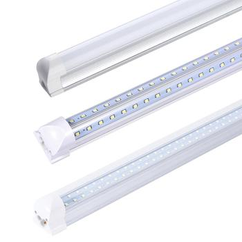 Wholesale Low Price OEM ODM 600mm 1200mm V Shape Double T8 Integrated Led Tube Light