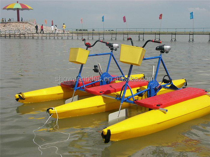 Frp Plastic Material High Quality Bike Water Quad Pedal Bikes For