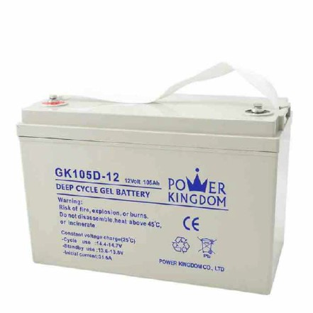 Power Kingdom 12v lead acid battery design medical equipment-3