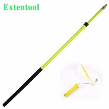 Fiberglass/aluminum Paint Roller Extension Telescopic Pole Clamps For  Window Cleaning Tools Rod - Buy Fiberglass/aluminum Paint Roller Extension