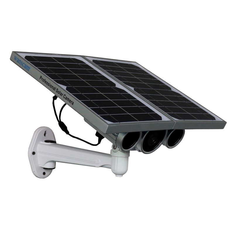 Energy Saving! Outdoor HD Starlight HD Solar Power IP camera to support 4g SIM Card