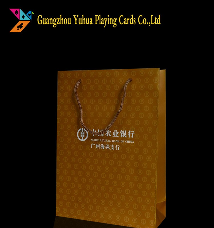 Paper Bags With Handles And Logo Printing YH1027