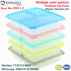 Hottest 3 Compartment Plastic Food Box Microwave Container Meal Prep, FDA Reusable Leakproof Lunch Storage Box Containers Set