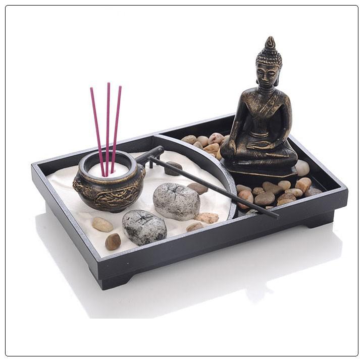 resina jard n zen para la decoraci n del hogar de alta calidad moderna de lujo mini jard n zen. Black Bedroom Furniture Sets. Home Design Ideas
