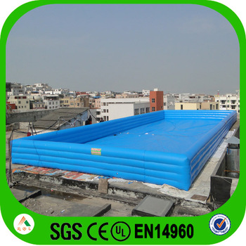 Certificated Pvc Tarpaulin Used Large Inflatable Swimming Pool For Sale Buy Large Inflatable