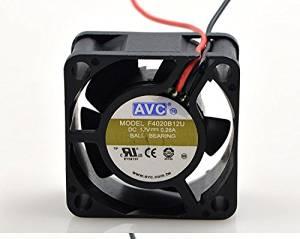 TOMUM Cooling Fan F4020B12U DC Fan 12V 0.28A 2 Wire Connector Graphics Card Fan 40x40x20mm