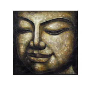 buddha head home decoration hand painted oil painting on canvas