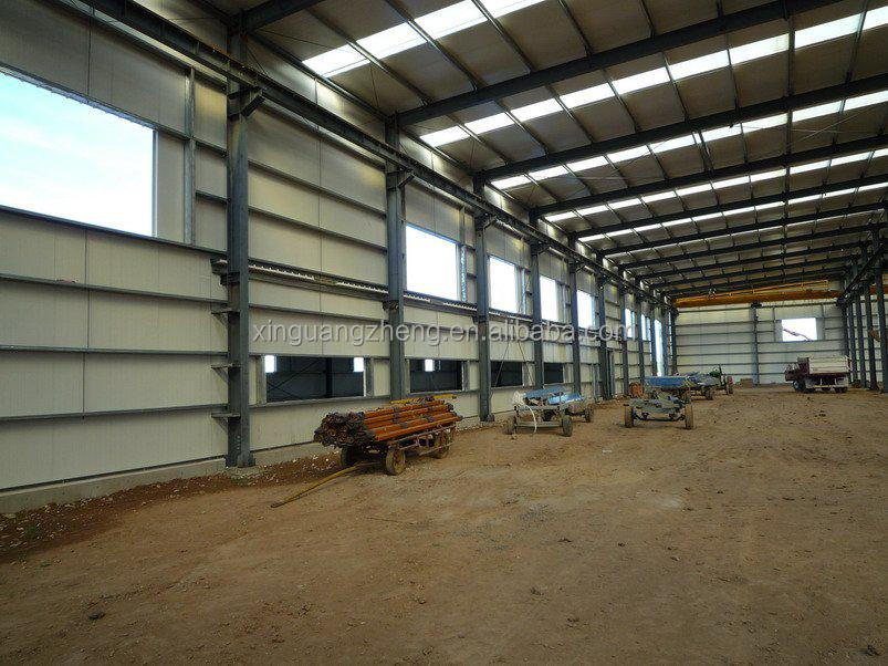 economical prefab steel structure small hangar in china